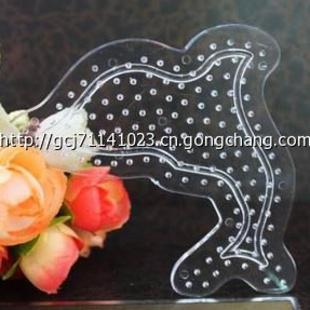 5mm拼拼豆豆卡通模板 artkal beads 海豚模板10起批发