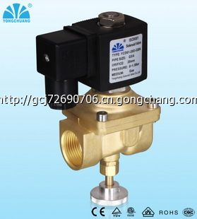 ycd61天燃气电磁阀灶具节能专用电磁阀手动电磁阀煤气图片