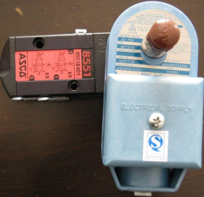 wbis8551a301美国asco电磁阀图片