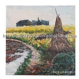黄蓁原创手绘风景油画
