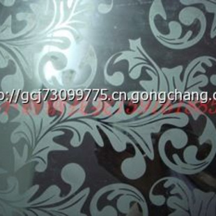 ktv不锈钢蚀刻板腐蚀板压纹雕刻纹价格 蚀刻黑钛花纹装饰不锈钢板