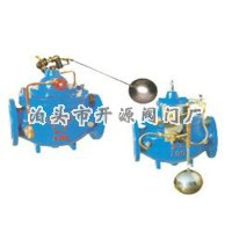 """kyf型浮球式液压水位控制阀""的详细描述: 液压水位控制阀具有自动图片"
