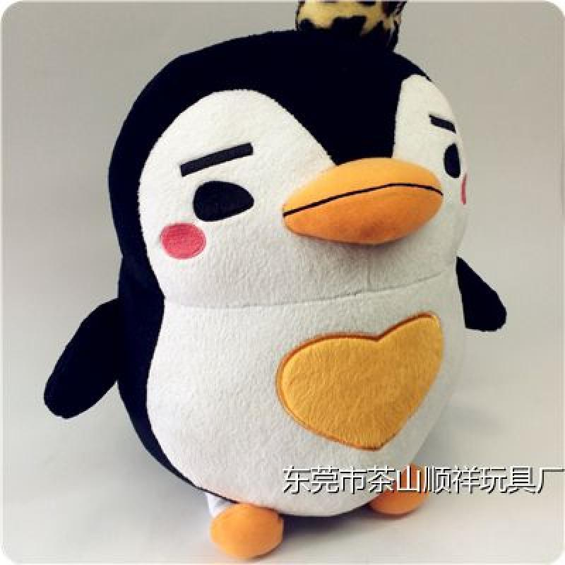 qq系统企鹅侧面头像