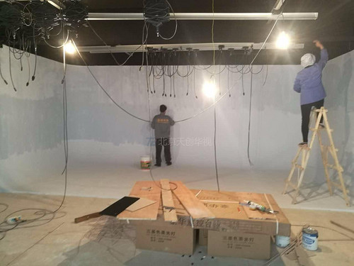 tcvideo 演播室蓝箱绿箱建设 怎么建蓝箱