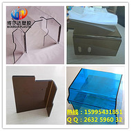 pc耐力板二次加工成 透明PC板加工 昆山PC板加工可来图来样加工厂家供