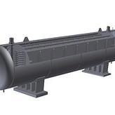 ING508mm螺旋管接水下联箱